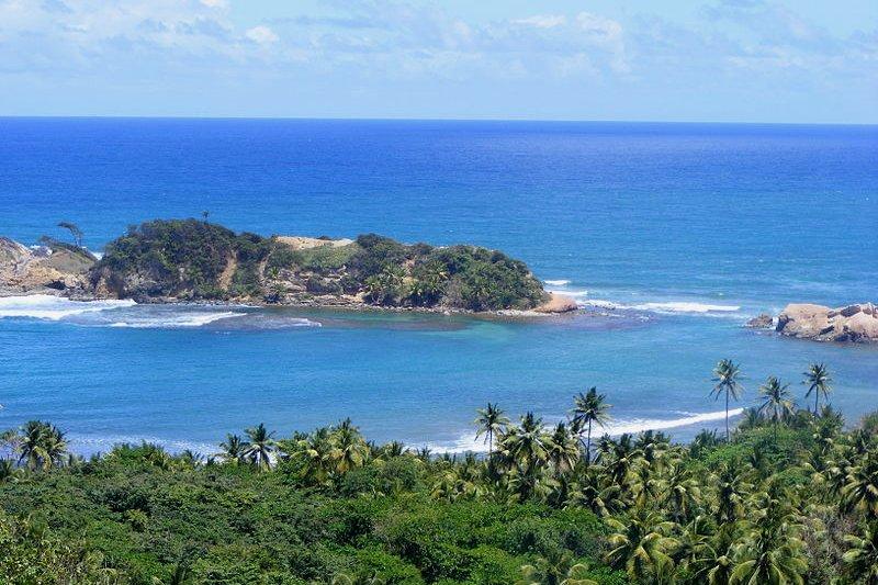 Seascape of Dominica