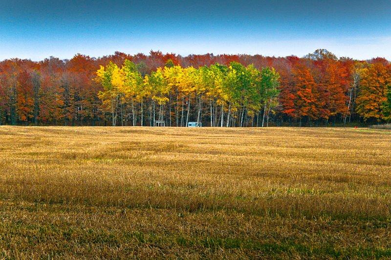 Autumn in Door County, Wisconsin