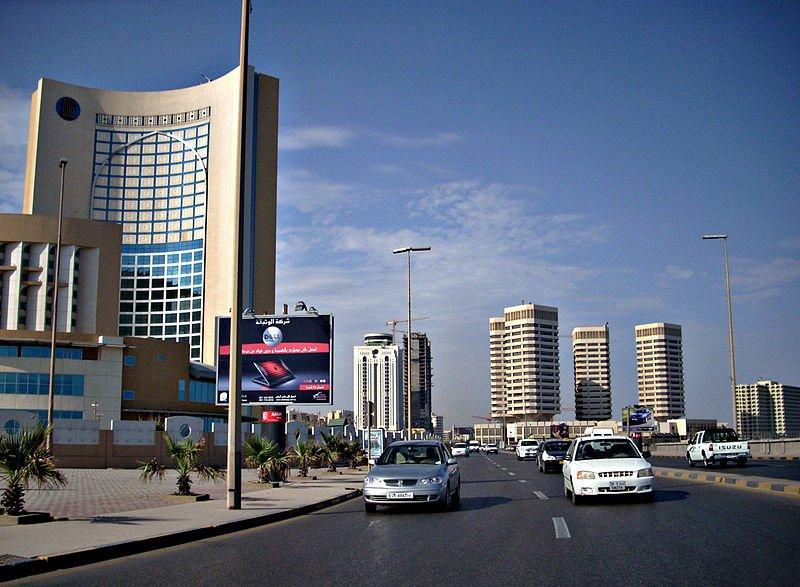 Downtown Tripoli, Libya