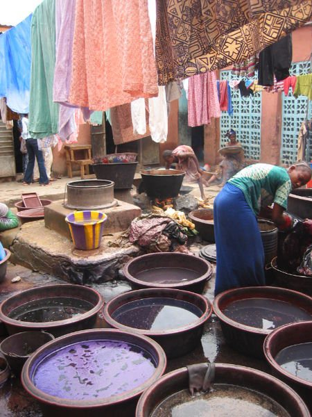 A dyeing trade in Mali