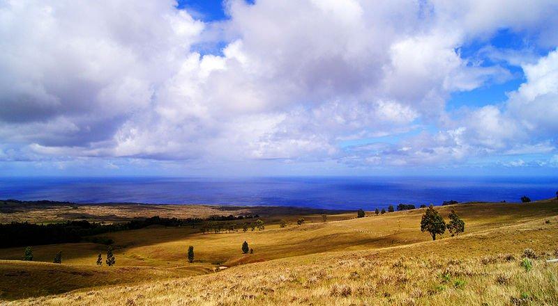Easter Island vista