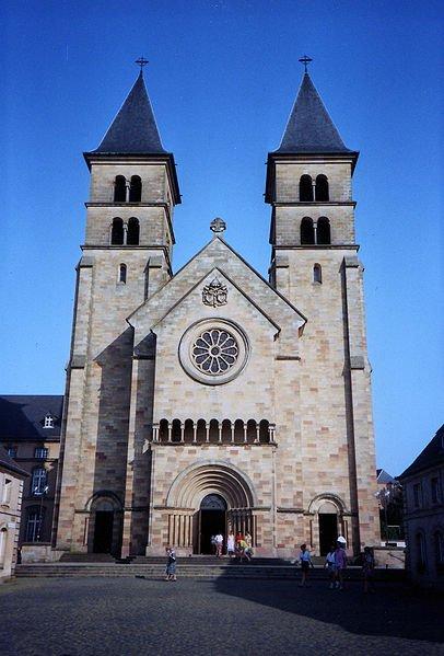 Echternach basilica, Luxembourg
