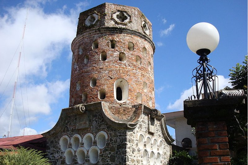 El Fontín monument in Heredia, Costa Rica