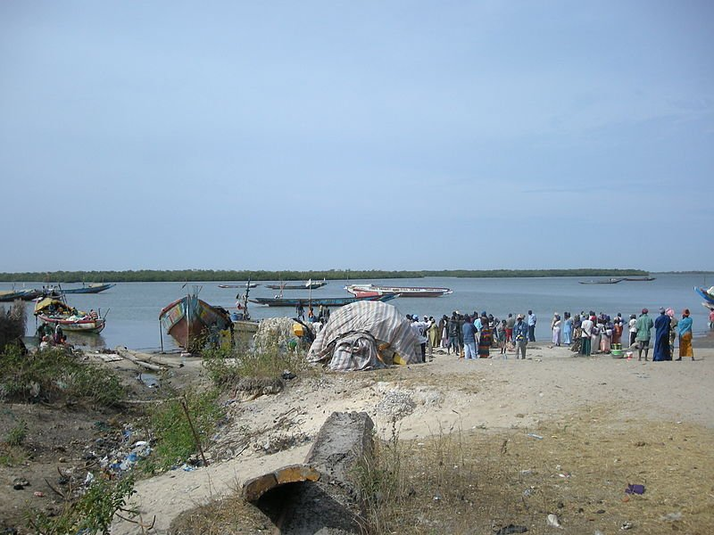 Port of Elinkine in Casamance, Senegal