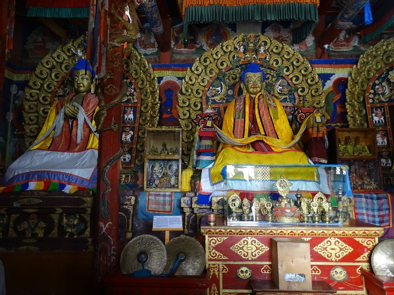 Interior of Erdene Zuu Monastery