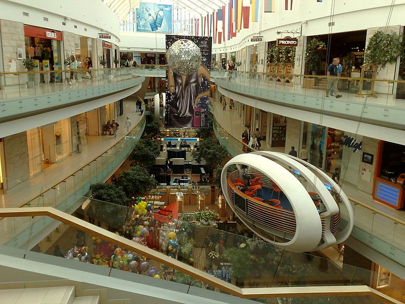 Europa shopping mall, Vilnius