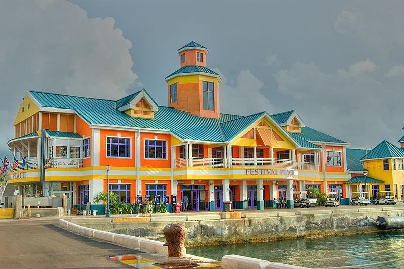 Festival Place, Nassau Harbour