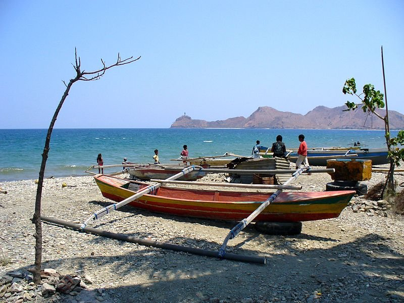 Fishing boats in Dili, East Timor