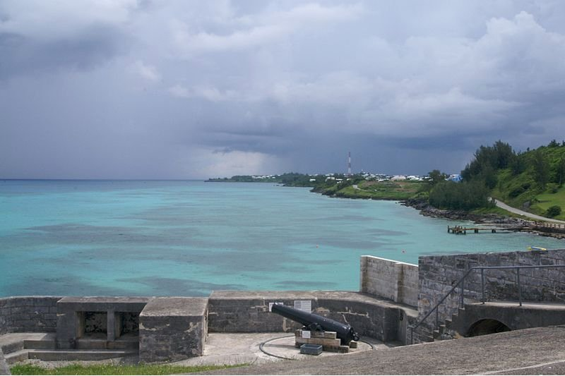 View from Fort St Catherine, Bermuda
