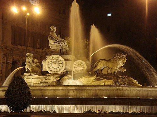 Fuente de la Cibeles, Madrid