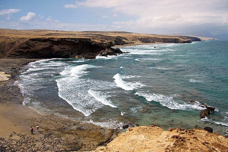 West coast of Fuerteventura, Canary Islands, Spain