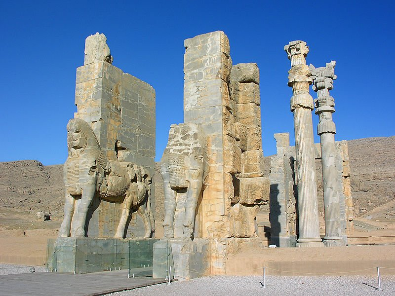 Gate of All Nations, Persepolis, Iran