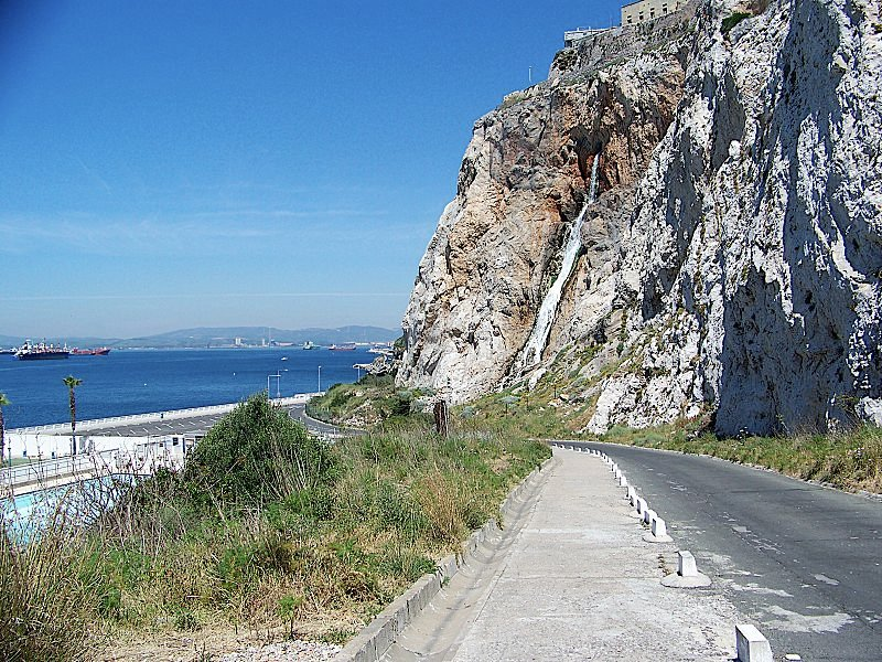 Gibraltar coastal road