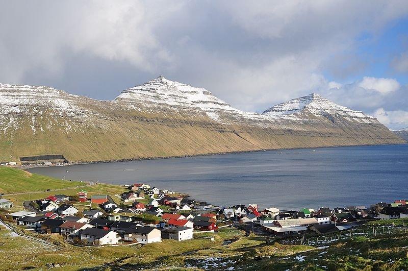 Gøtuvík Bay, Syðrugøta, on Eysturoy, Faroe Islands