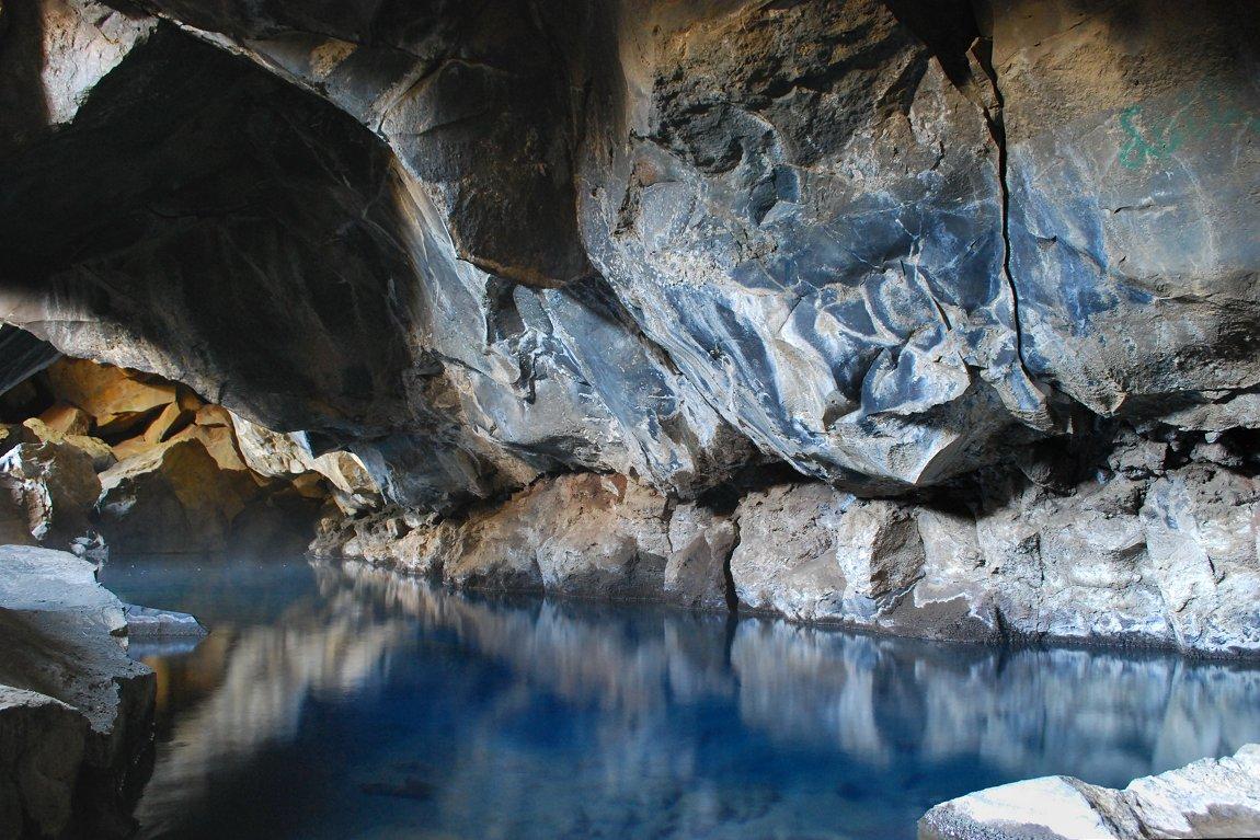 Grjótagjá Caves, Iceland