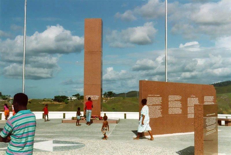 Guadalcanal American Memorial, Honiara, Solomon Islands