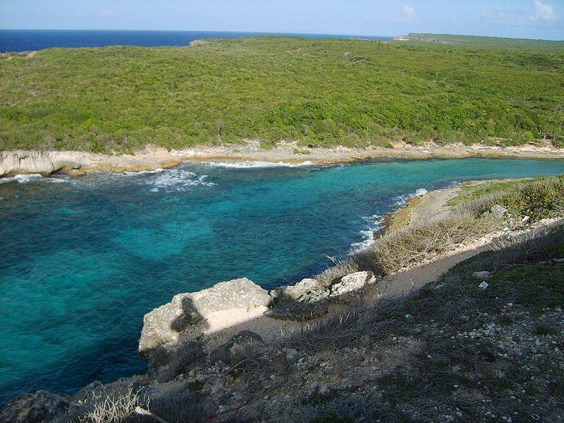 Guadeloupe coast