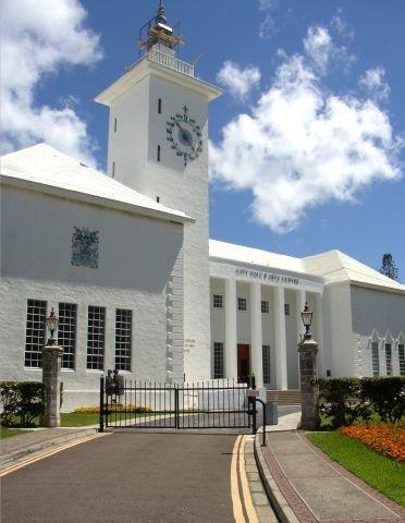 City Hall of City Hall of Hamilton, Bermuda