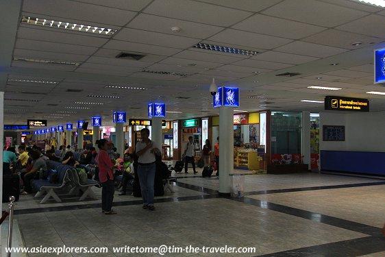 Hatyai International Airport Departure Lounge