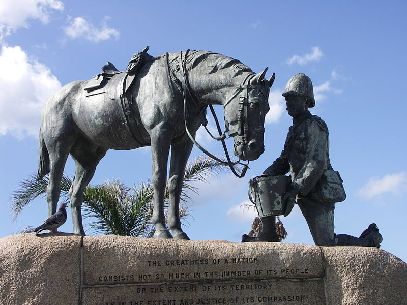 Horse Memorial, Port Elizabeth