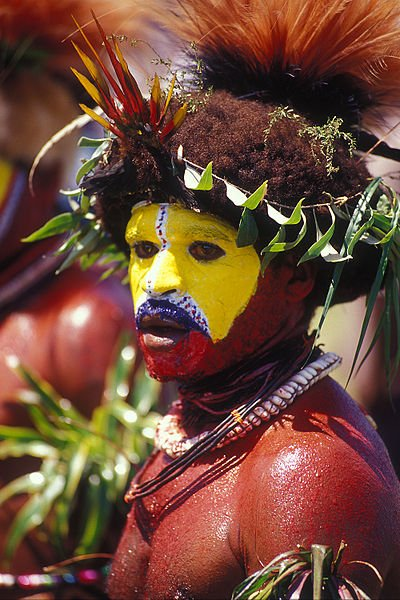 Huli Wigman of the Southern Highlands of Papua New Guinea