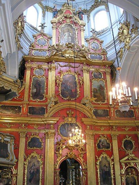 Iconostatis at St Andrew's Church, Kiev