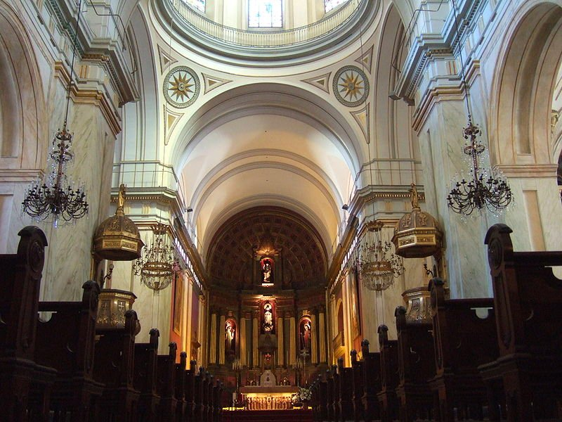 Interior of Montevideo Cathedral