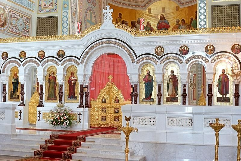 Interior of St Vododymyr's Cathedral, Sevastopol
