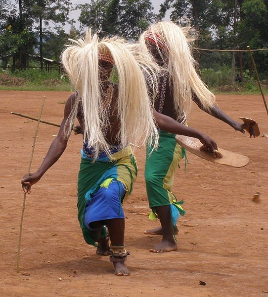 Intore dance performed at Gasogi village, Rwanda