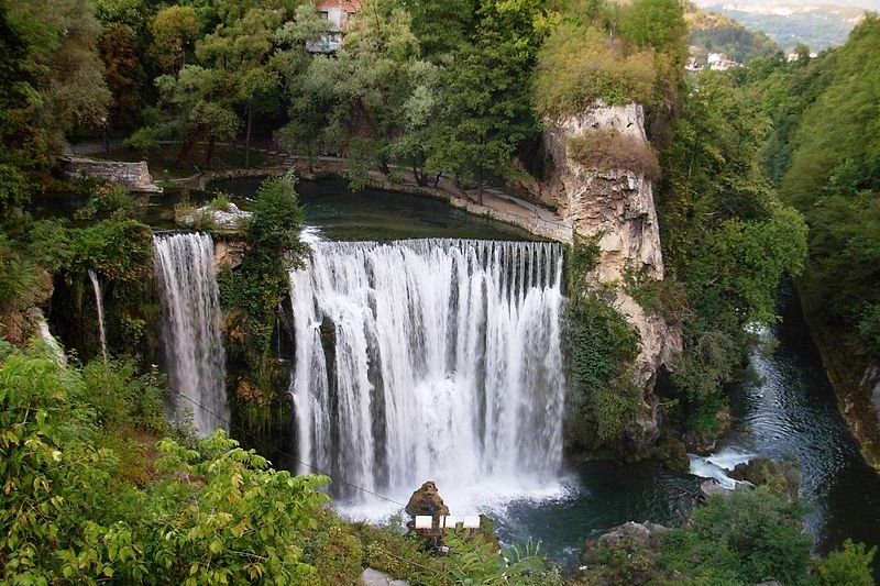 Jajce Waterfall, Bosnia and Herzegovina