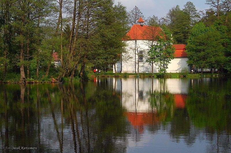 Jan Nepomucen Church in Zwierzyniec, Poland