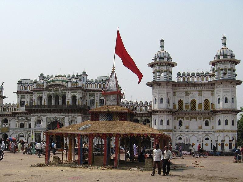 Janaki Mandir in Janakpur, Nepal
