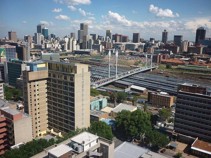 Johannesburg skyline, South Africa