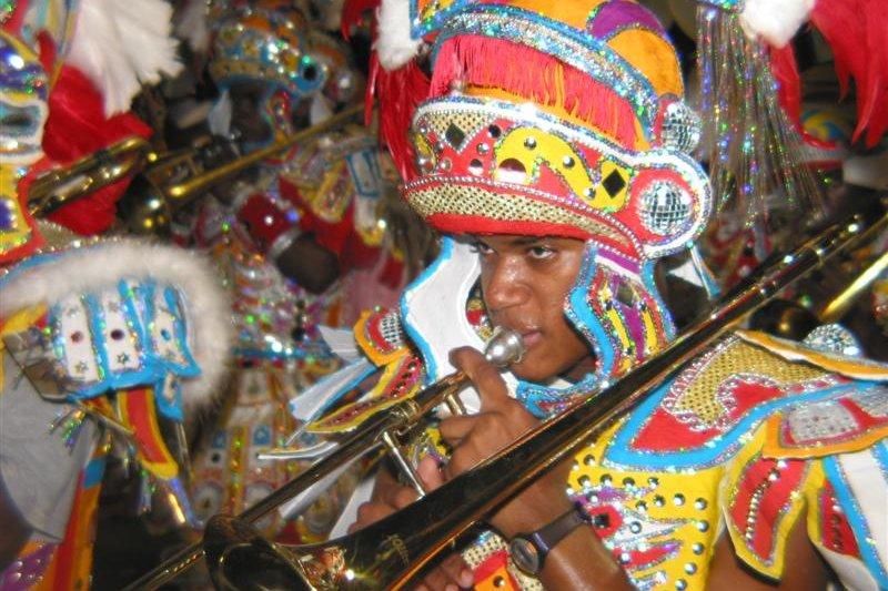 Junkanoo parade, Bahamas