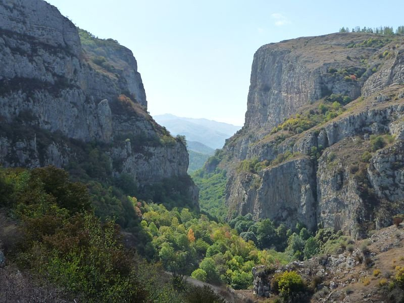 Karkar River Canyon in Nagorno-Karabakh