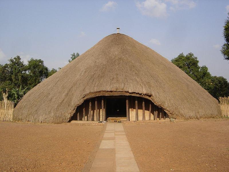 Kasubi Tombs in Kampala, Uganda, razed by fire on 16 March 2010