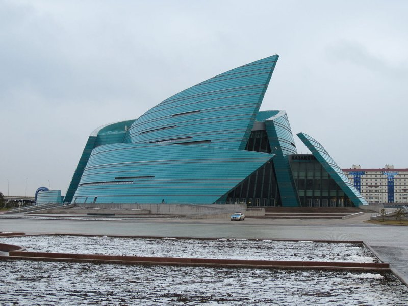 Kazakhstan Central Concert Hall in Astana, Kazakhstan