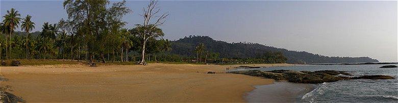 The beach at Khao Lak