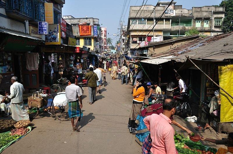 Koley Market in Howrah, West Bengal