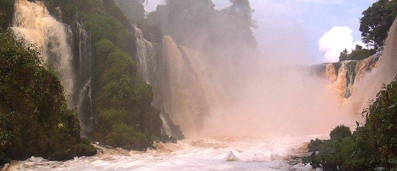 Kongou Falls, Gabon