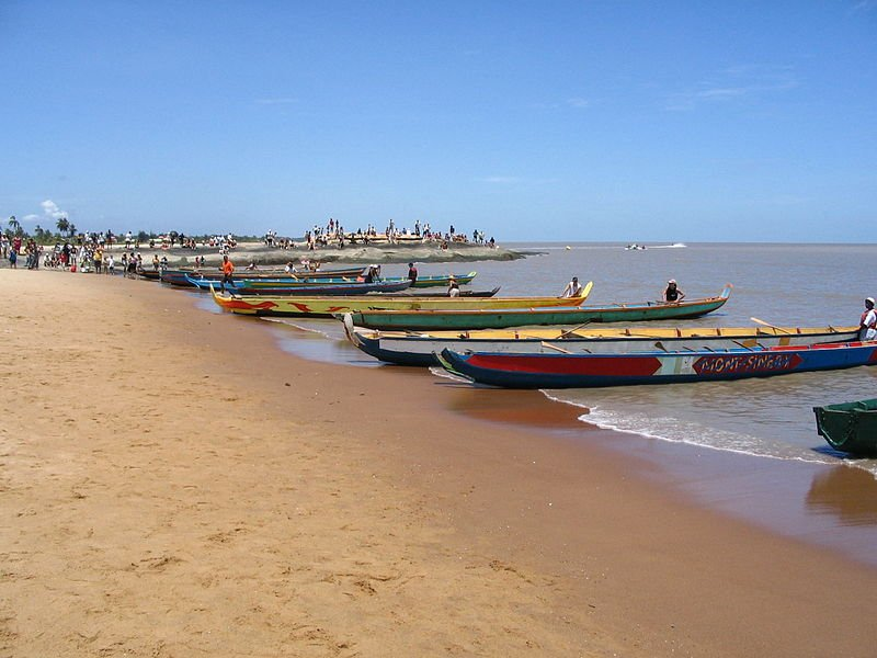 Kourou Beach, French Guiana