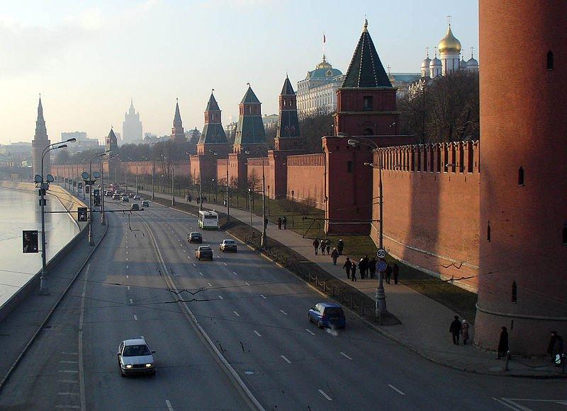 Kremlin Embankment, Moscow, Russia