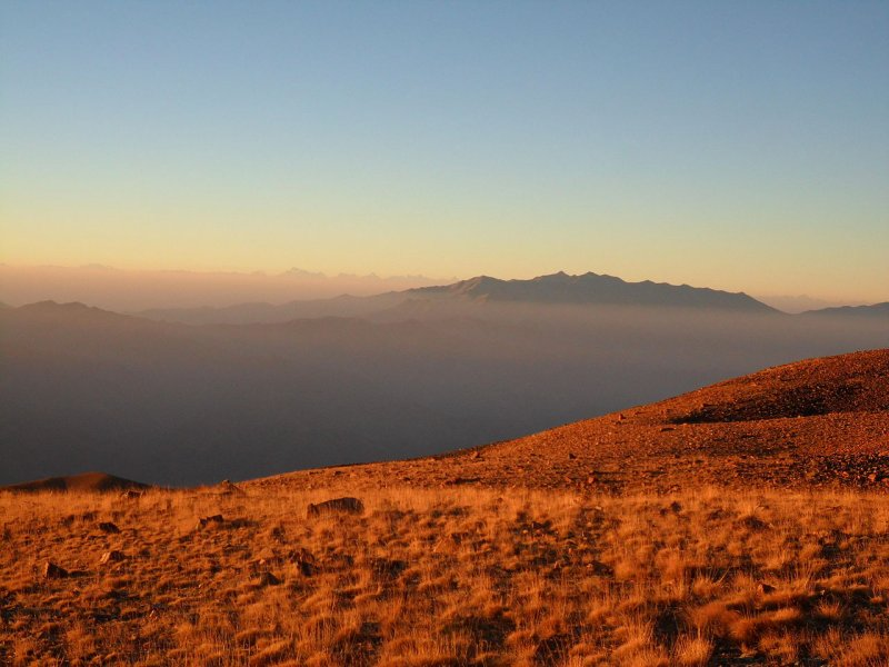 Kuramin Ridge, Uzbekistan