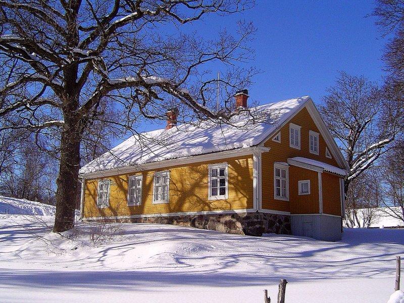 Kvarnaslätt in winter