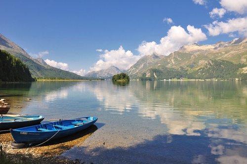 Lake Sils in Graubünden