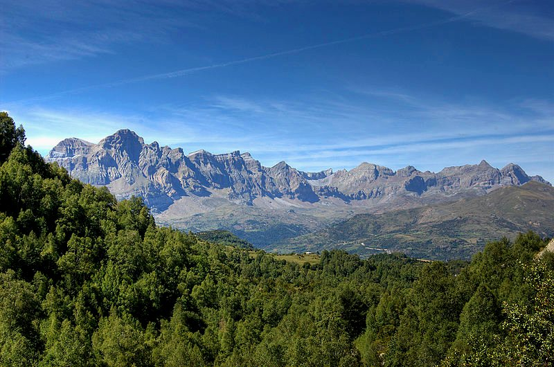 Landscape of Aragón, Spain