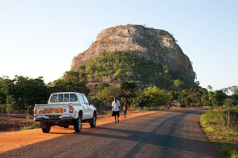 Landscape of Mozambique
