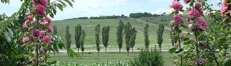 Landscape of Raionul Orhei, Moldova