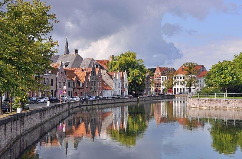 Lange Rei, Bruges