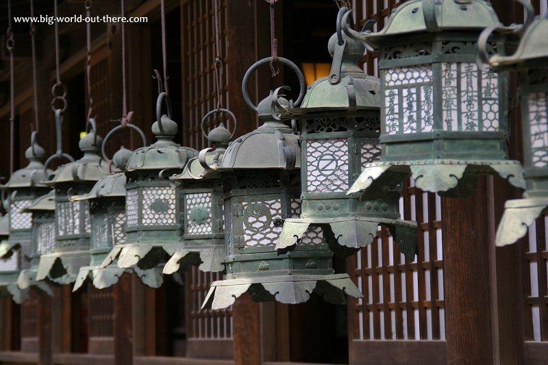 The lanterns at Kasuga Grand Shrine